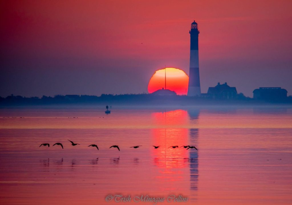 1st Place Looking across the Great South Bay at sunrise by Trish MinogueCollins @TrishMinogPhoto