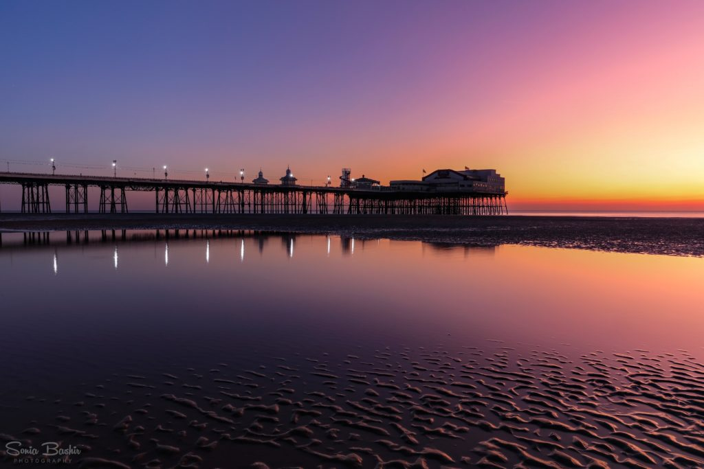 1st Place North Pier Sunset, Blackpool by Sonia Bashir @SoniaBashir_