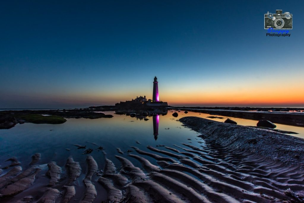 1st Place Sand Ripples at Saint Mary's Lighthouse Whitley Bay by Coastal Portraits @johndefatkin