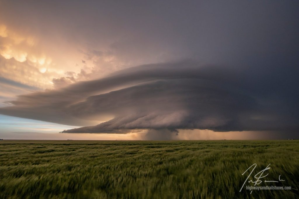 1st Place Storm over The Plains by Travis Farncombe @tjfarncombe