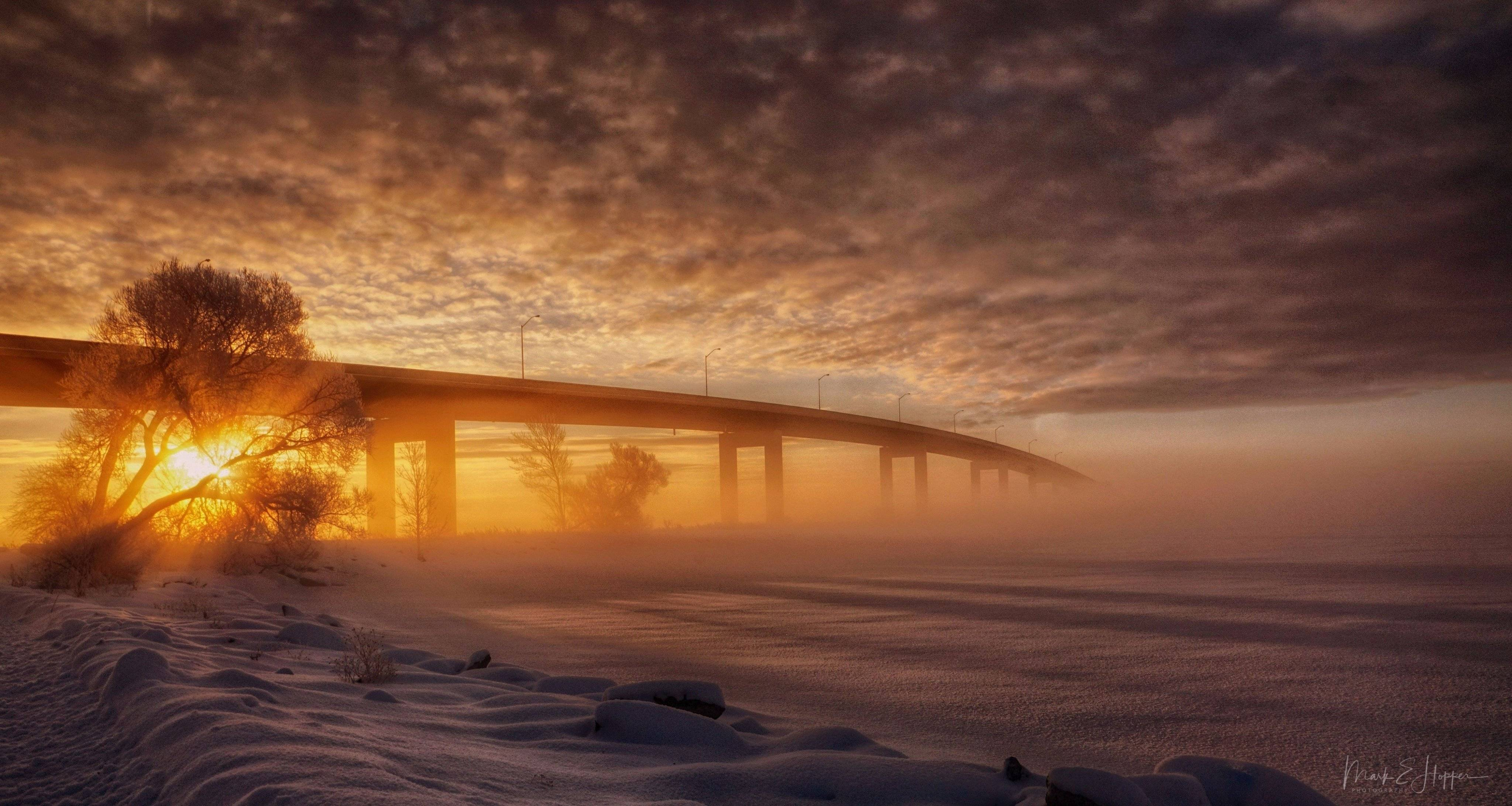 1st Place Winter happens...cross that bridge when we get to it, Ontario by Mark Hopper @hoppermark