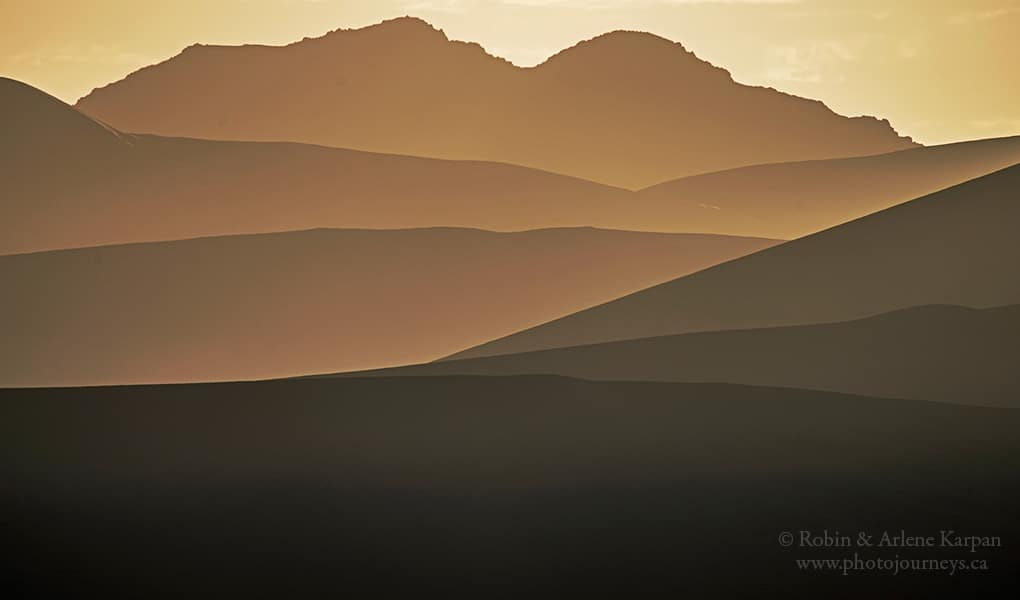3rd Place Foggy sunrise in the sand dunes of Namibia by Robin&Arlene Karpan @KarpanParkland