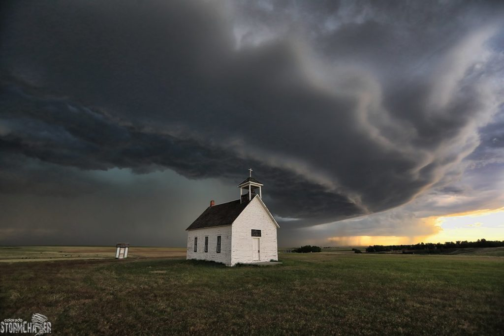 Supercell storm on the Eastern #Colorado Plains by Eric Treece @EricTreece