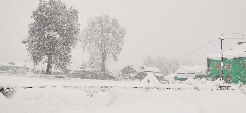 1st Place Extreme snowfall disrupted Kokernag Town of Jammu and Kashmir state of India by Dr Anoop Mishra @SkepticalAnoop