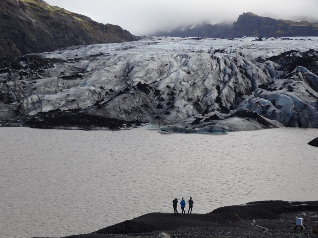 1st Place Dwarfed by Sólheimajökull Glacier, Iceland by Robert Merle Johnson @RobertMerleJoh1