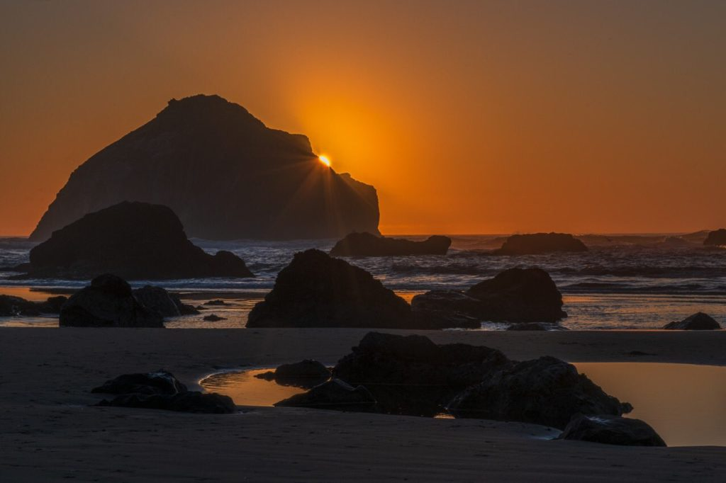 2nd Place A fun night at Bandon Beach, Oregon by Michael Ryno Photo @mnryno34