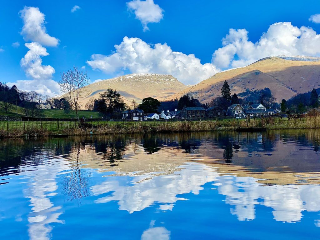 3rd Place Reflections in Grasmere, Lake District by Faeryland Grasmere @faerymere