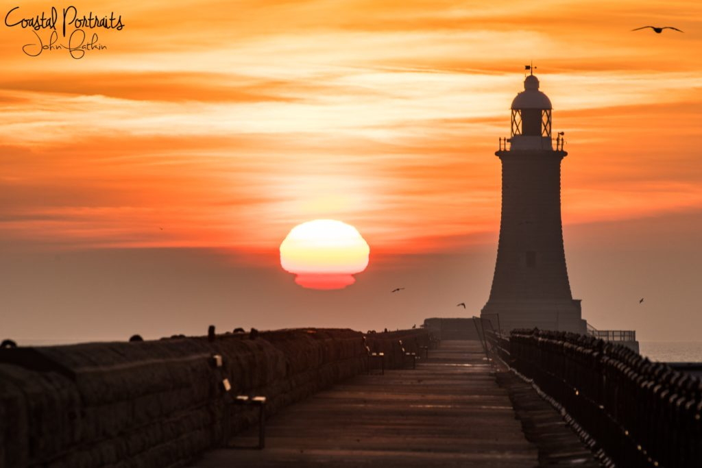 3rd Place The North Tyne Pier & Lighthouse by Coastal Portraits @johndefatkin