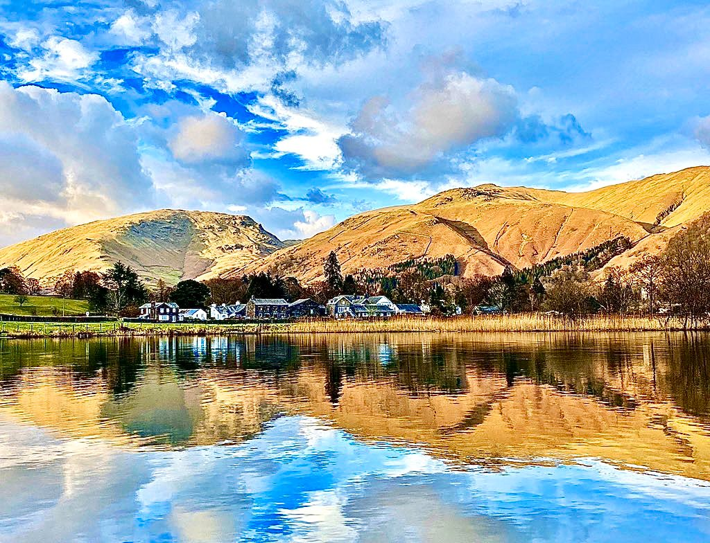 Reflections at Grasmere, Lake District by Faeryland Grasmere @faerymere