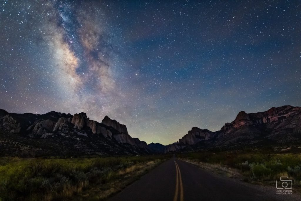 The Milky Way in eastern Arizona by Lynsey Schroeder Photography @LSchroederPhoto