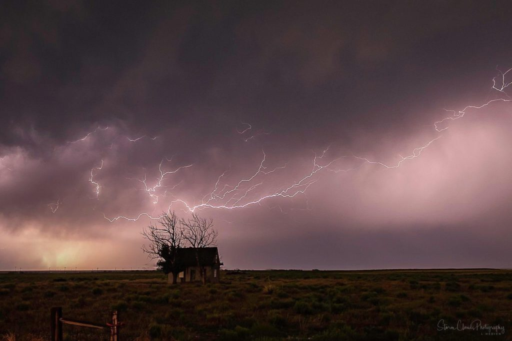 Thunderstorm on the Colorado Plains by Laura Hedien- Storm Clouds Photography @lhedien