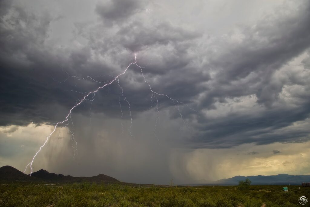 2nd Place A daytime monsoon storm hits Whetstone, AZ by Steven Maguire @StephenMaguire4