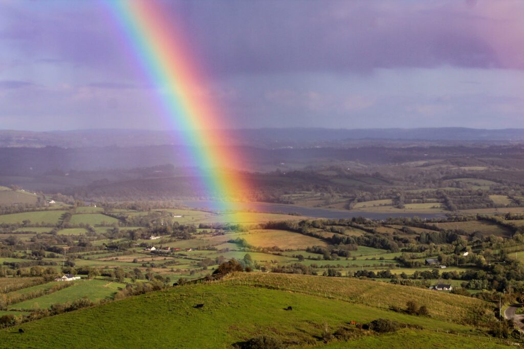 3rd Place Vibrant rainbow over Boho Fermanagh by Tom Gilroy photography @tomgilroy33