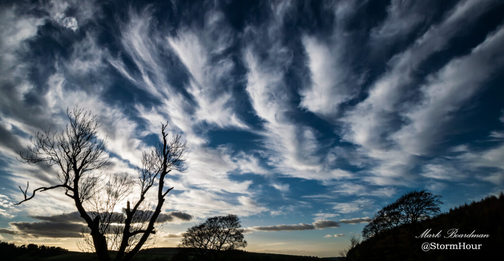 Bands of cirrus