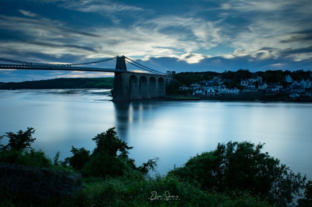 1st Place The Menai Bridge, Anglesey at the end of a summers day by ElenJames @elenjames32