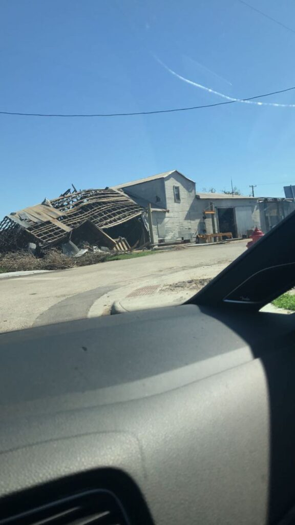 Pics of damages in Texas after Harvey as I drove through