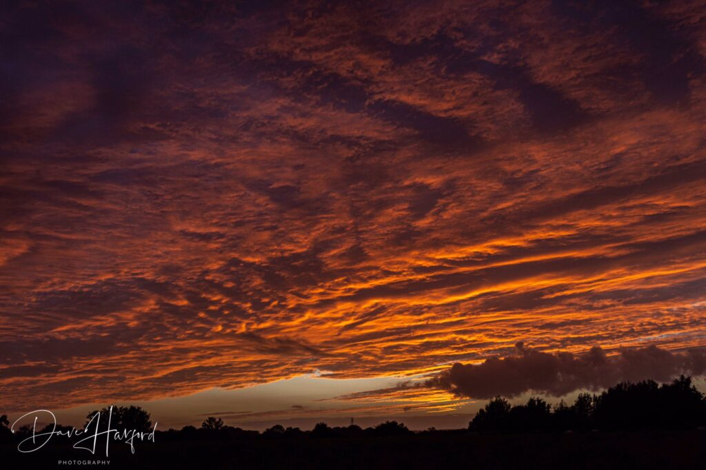 2nd Place Incredible sunset taken over Worcestershire in the UK by Dave Harford Photos @Dharford79S