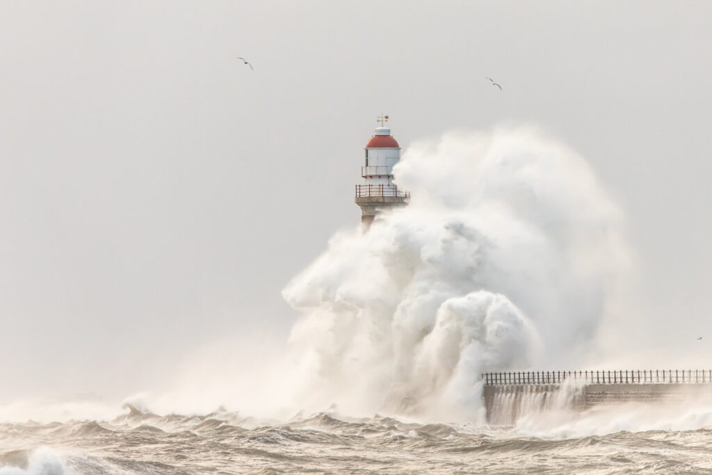 2nd Place Northerly winds at Roker in Sunderland UK simon c woodley @simoncwoodley