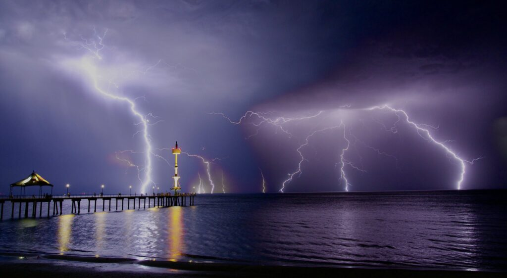1st Place Lightning fury at Brighton Beach Adelaide South Australia by Steven Genesin @sgenesin