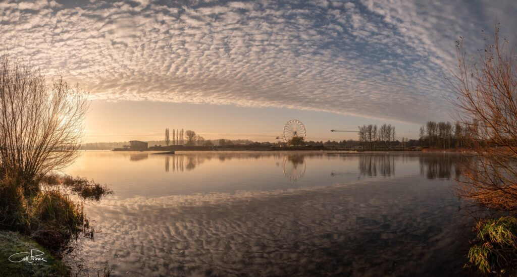 1st Place Sunrise over a perfectly still Willen Lake in Milton Keynes by Gill Prince @GillPrincePhoto