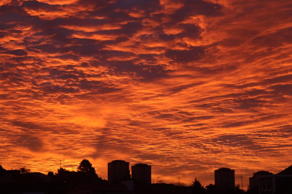 3rd Place Motherwell morning sky by john dyer @wildswimmer67