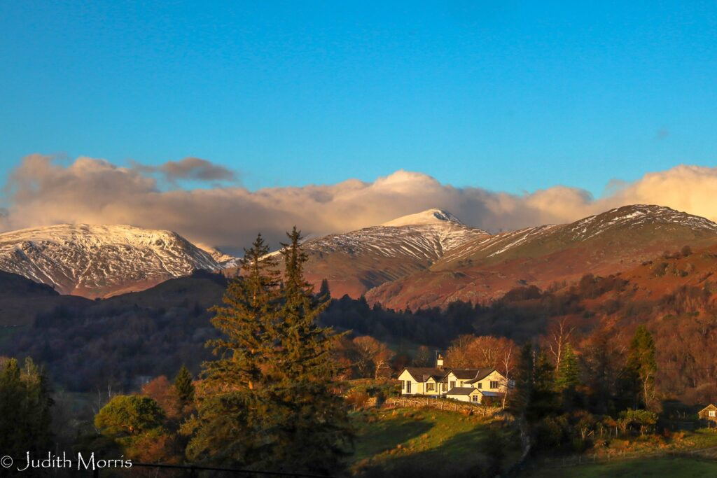 3rd Place Clouds over Helvellyn and Fairfield by Judith Morris @JUDITHM58257161