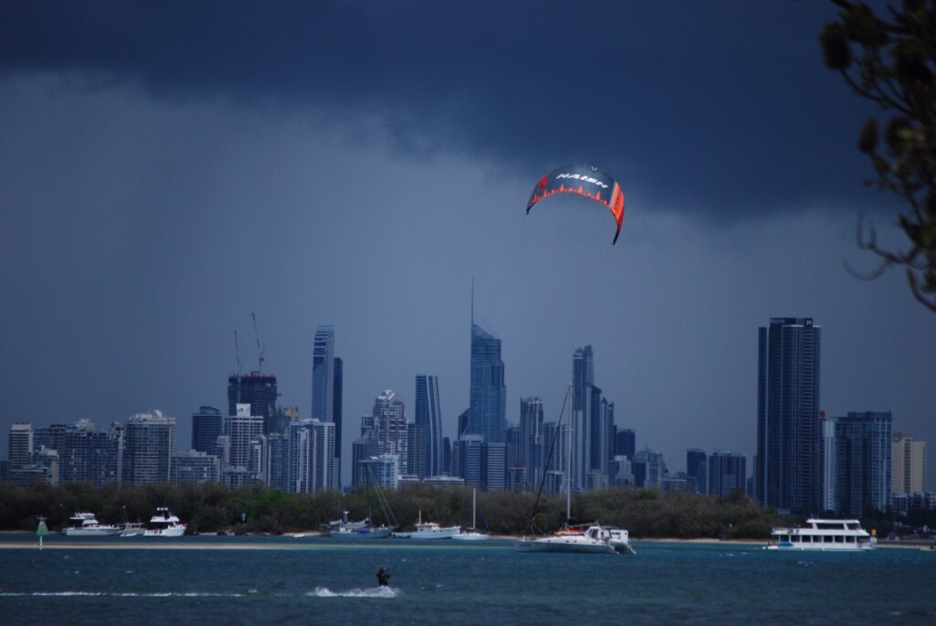 1st Place A stormy day on the Gold Coats of Queensland by Celina K @StellaBella67