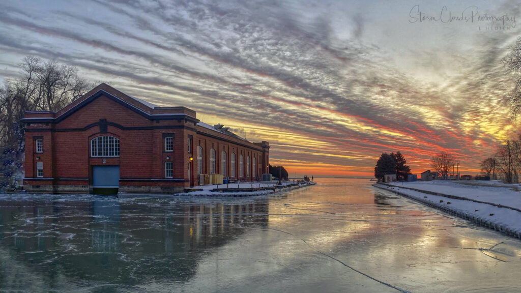 3rd Place Great Lakes Naval Base Illinois on Lake Michigan on a cold winter morning by Laura Hedien @lhedien
