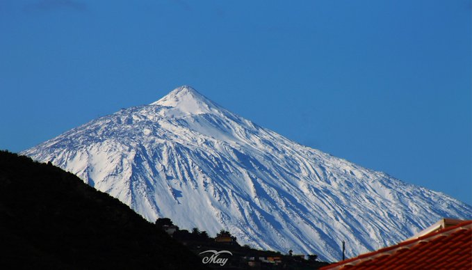 3rd Place Teide Volcano covered with snow in Tenerife, Canary Islands by May Naomi Photo @MayNaomiPhotog1