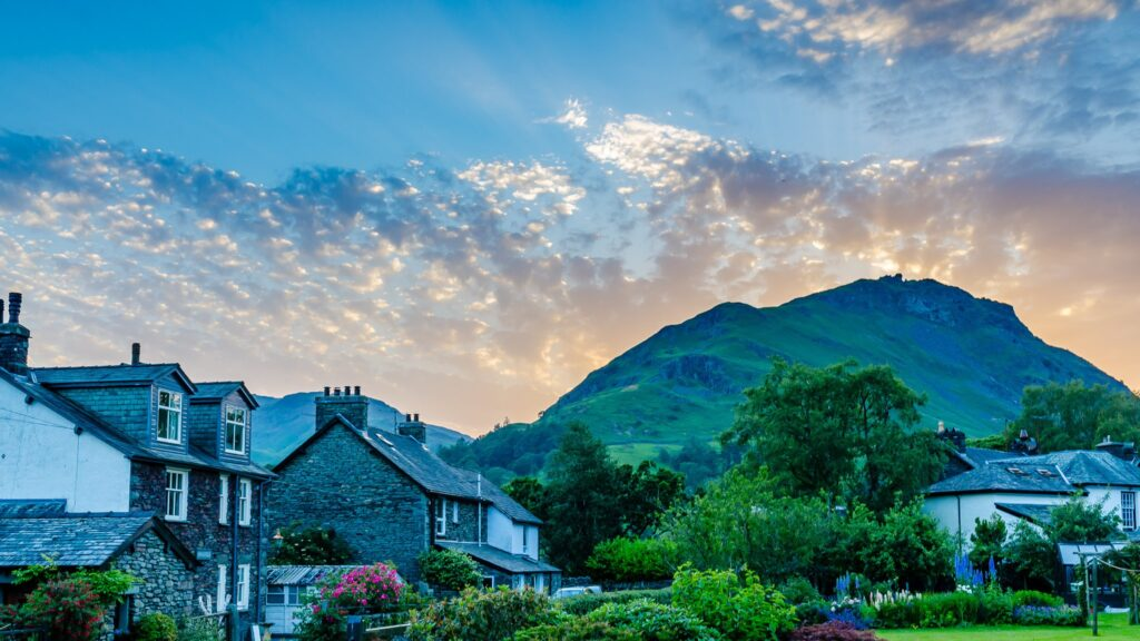 2nd Place Sunset over Helm Crag from Grasmere by John Challis @JohnChallis27