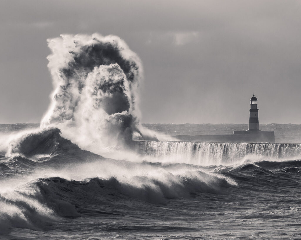 1st Place Jaws - Giant waves at Seaham in County Durham by Malcbawn photos @malcbawn