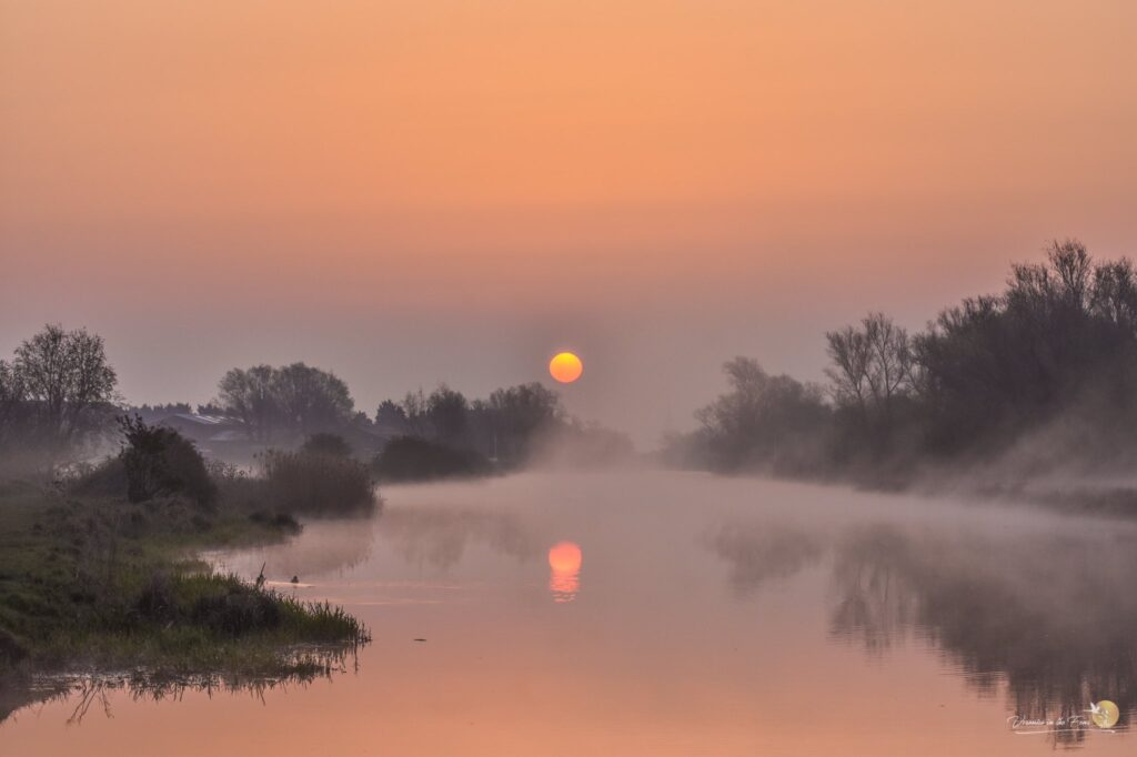 1st Place Sunrise in the Fens, Ely, Cambridgeshire by Veronica in the Fens @VeronicaJoPo